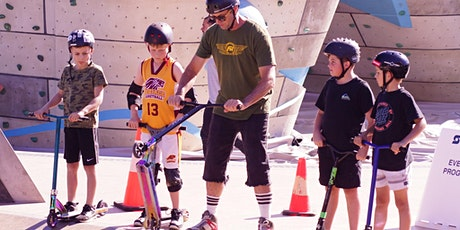 Carine skatepark - Scooter Coaching 4th October 2021 tickets