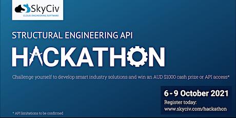 SkyCiv Structural Engineering API Hackathon tickets