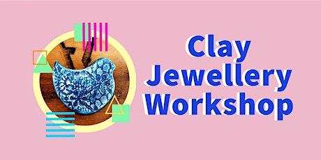 Clay Jewellery Workshop  |  Trott Park tickets