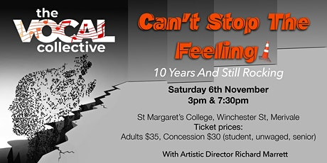 The Vocal Collective Turns 10 : Can't Stop The Feeling tickets
