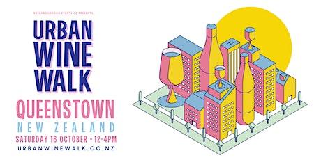 Urban Wine Walk Queenstown (Weekend 2) tickets