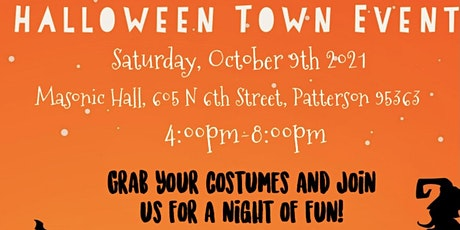 Halloween Town Event-Patterson tickets