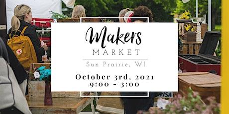 Makers Market Sun Prairie tickets