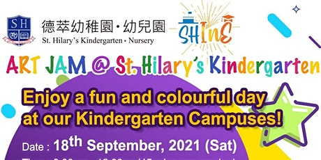 Art Jam @  (Prince Edward Campus) St. Hilary's Kindergarten tickets