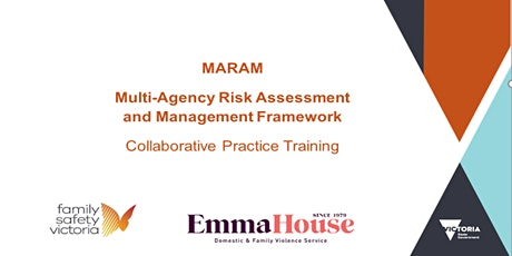 MARAM Collaborative Practice Module Training - online session 20 tickets