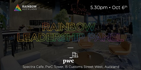 Rainbow Auckland leadership panel hosted by PwC NZ tickets