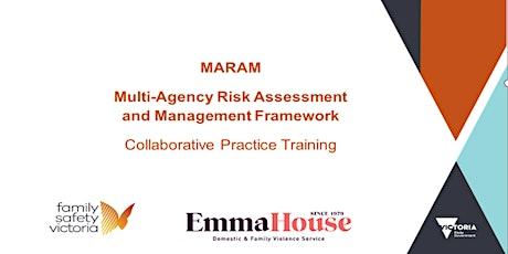 MARAM Collaborative Practice Module Training - online session 21 tickets