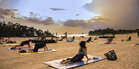 Sunset Yoga by the Beach tickets