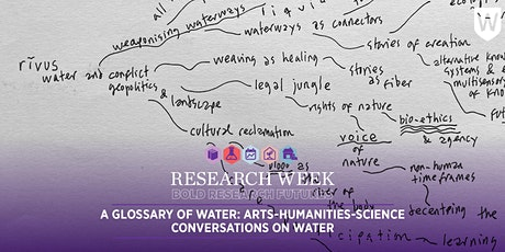 A Glossary of Water: arts-humanities-science conversations on water tickets