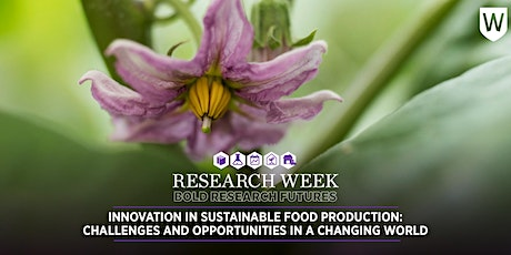 Innovation in Sustainable Food Production in a Changing World tickets
