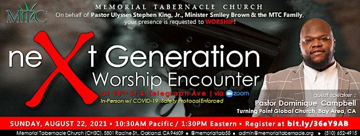 neXt Generation Worship Encounter image