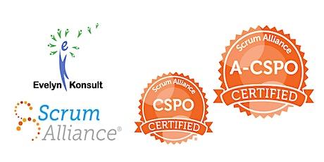 首次线上CSPO和高阶ACSPO双证班 tickets