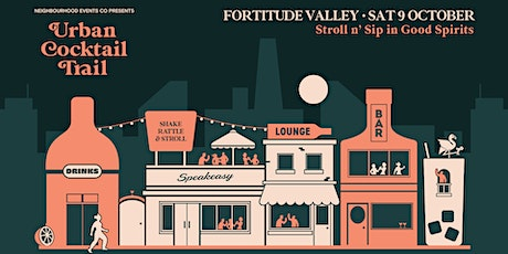 Urban Cocktail Trail - Fortitude Valley (QLD) tickets
