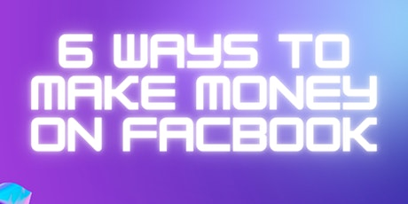 How to use FaceBook to earn an extra Income tickets