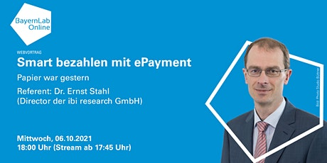 Smart bezahlen mit ePayment - Papier war gestern Tickets