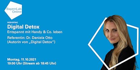 Digital Detox - entspannt mit Handy & Co. leben tickets