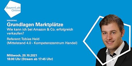 Grundlagen Marktplätze: Wie verkauft man auf Amazon & Co. erfolgreich? Tickets