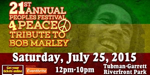The 21st Annual Peoples Festival 4Peace & Tribute to...