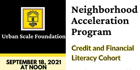Credit and Financial Literacy Cohort tickets