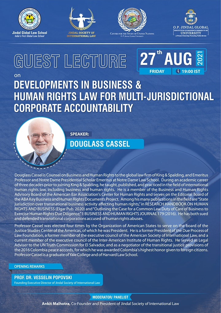 Business & Human Rights Law: Multi-Jurisdictional Corporate Accountability image