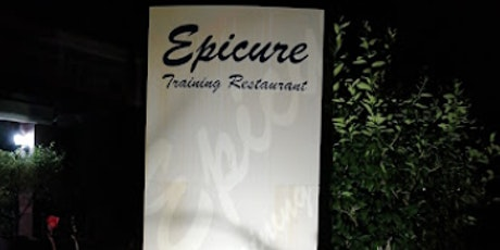 Save the Date - Epicure Training Restaurant tickets
