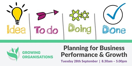 Planning for Business Performance & Growth tickets
