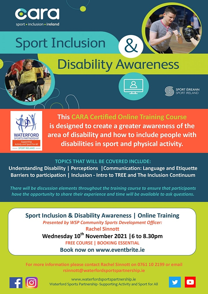 Sports Inclusion & Disability Awareness - Online Training Course image