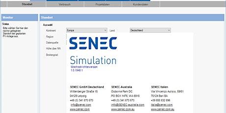 Webinar SENEC.Simulation - PV & Speicher- Planungssoftware Tickets