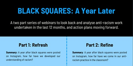 Black Squares: A  Year On. Part 1: Refresh tickets
