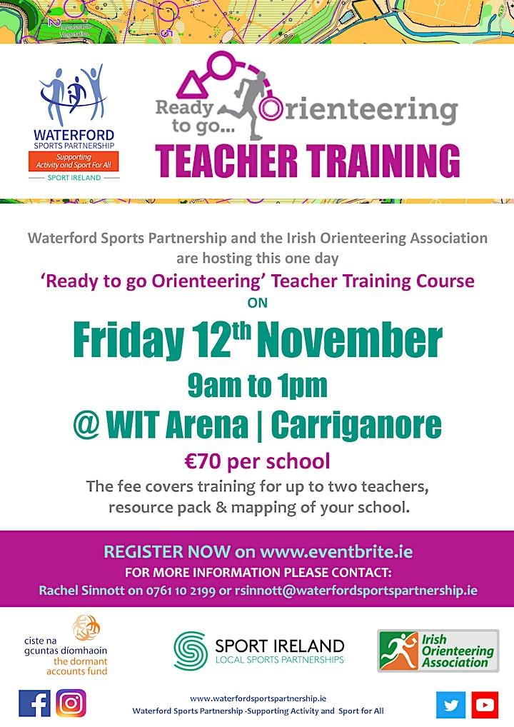 """Ready to go Orienteering"" - Teacher Training image"