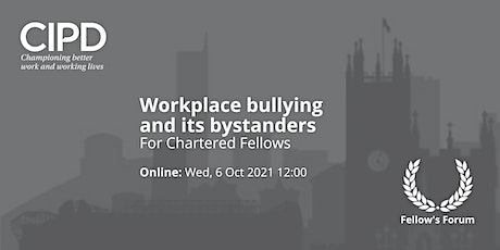 Workplace bullying and its bystanders tickets