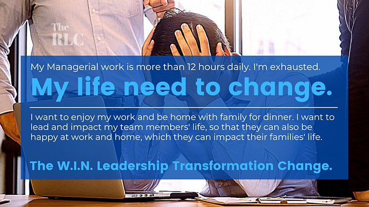 The Ultimate W.I.N. Leadership Transformation MasterClass image