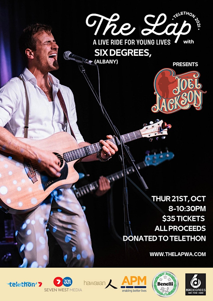 Joel Jackson Live at  Six Degrees Albany for 'The Lap'. image