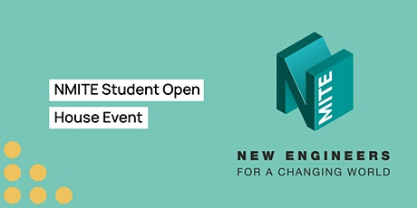 NMITE  Student Open House Event tickets