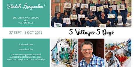 Urban Sketching with Ian Fennelly in France billets