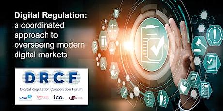 Digital regulation: A coordinated approach – Live Q&A tickets