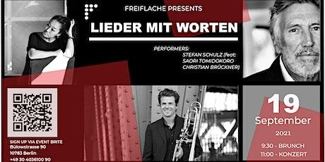 Lieder mit Worten (Pre-Release Konzert) Tickets