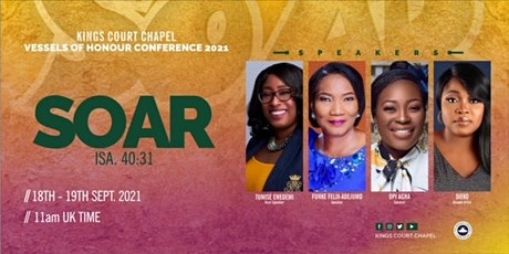 2021 Vessels of Honour Virtual Conference tickets