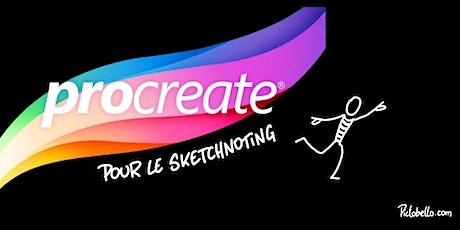 "Formation ""Procreate pour le Sketchnoting"" billets"