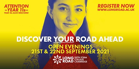 Long Road Open Evening: Entry between 4:30pm - 5pm tickets