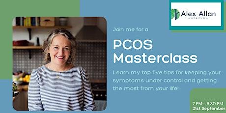 PCOS Masterclass tickets