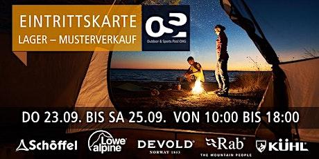 OSP Lager und Musterverkauf   23. - 25. SEPTEMBER 2021 tickets