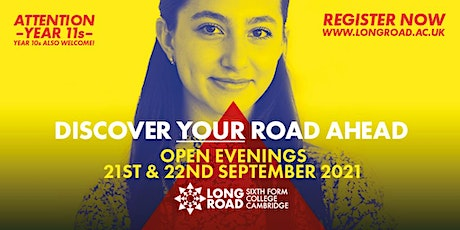 Long Road Open Evening: Entry between 6:30pm - 7pm tickets