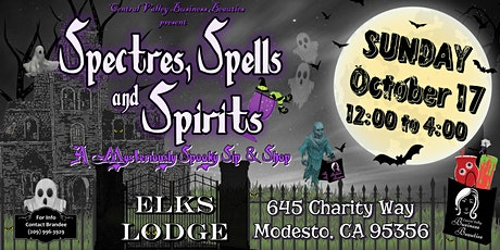 Spectres, Spells & Spirits: A Mysteriously Spooky Sip & Shop tickets