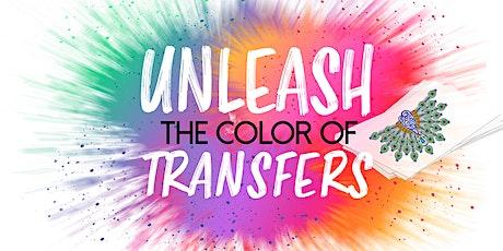 Unleash The Colour Live - Heat Printing Masterclass tickets