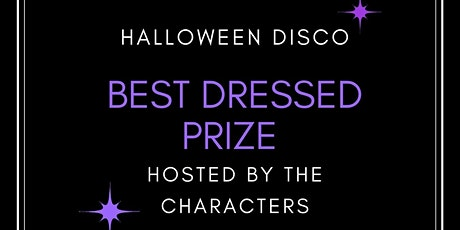 Halloween Disco With The Characters! tickets