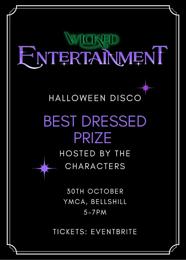 Halloween Disco With The Characters! image