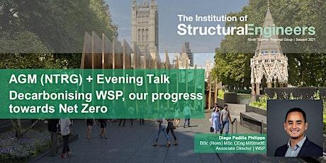 AGM (NTRG) + Evening Talk Decarbonising WSP, our progress towards Net Zero tickets