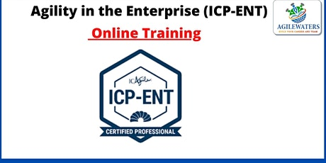 ICP - ENT Agility In The Enterprise Coaching bilhetes