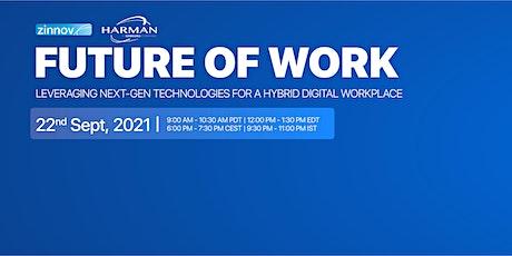 Leveraging next-gen technologies for a hybrid digital workplace tickets